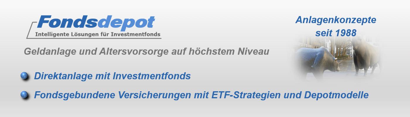 Fondsdepot – Intelligente Lösungen für Investmentfonds