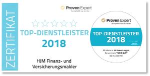 HJM TOP Finanzmakler 2018