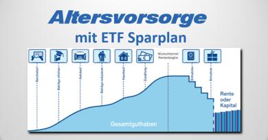 Altersvorsorge mit ETF Sparplan