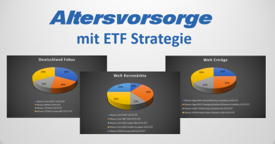 Altersvorsorge mit ETF Strategie